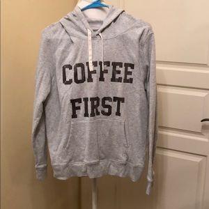 """Coffee First"" Sweatshirt"